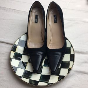 Kate Spade Leather and Wool Heels in size 9B